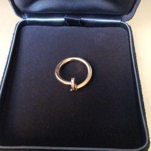 Custom Made 18K gold JUSTE UN CLOU RING